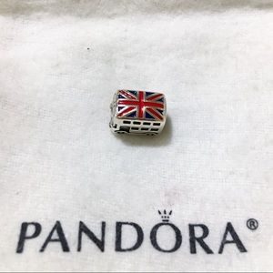 Pandora UK Bus Charm